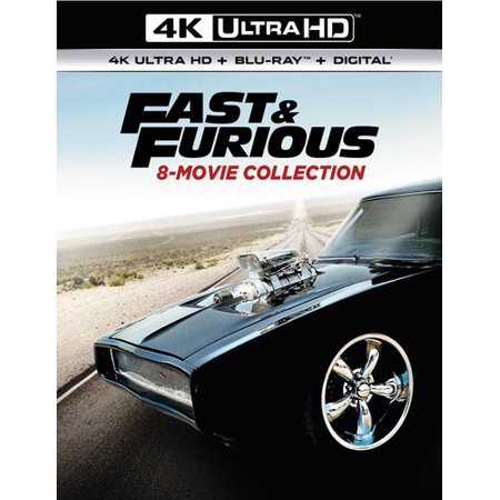 Fast And Furious 8-Movie Collection (4K Ultra HD +
