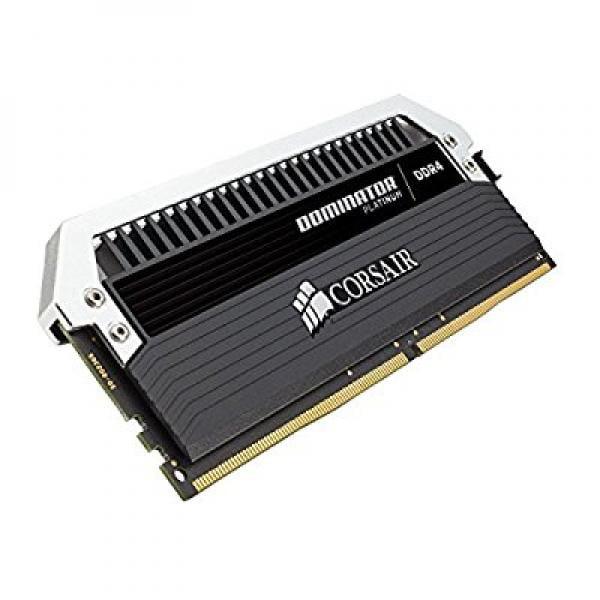 Corsair DOMINATOR Platinum 64GB (4x16GB) DDR4 3466 (PC4-27700) C16 with Airflow for Intel 100 Series