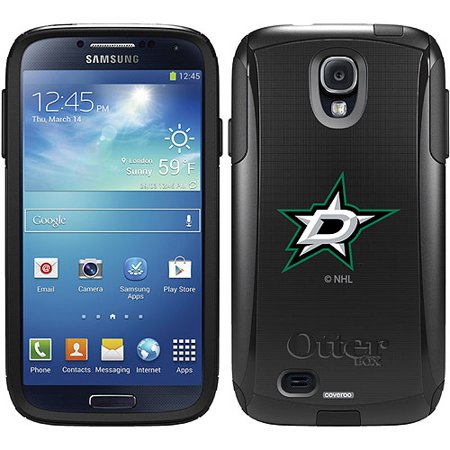 Dallas Stars Primary Logo Design on OtterBox Commuter Series Case for Samsung Galaxy S4 (S4 Dallas Halloween)