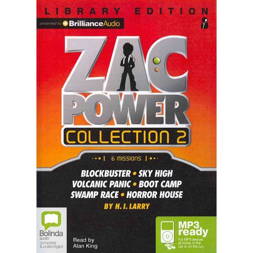 Zac Power Collection 2: Library Ediition