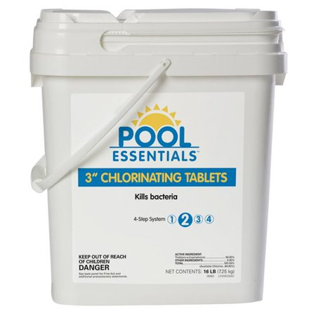 16 Lb Pool Essentials 3 In Tablets Walmart Com