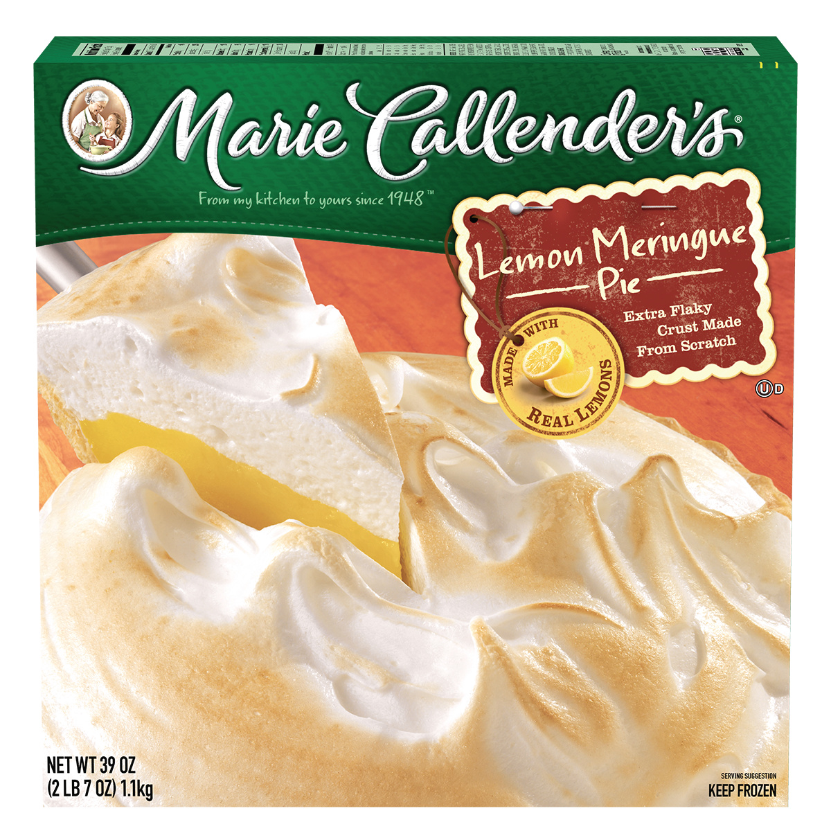 Marie Callender's Lemon Meringue Pie, 39 oz