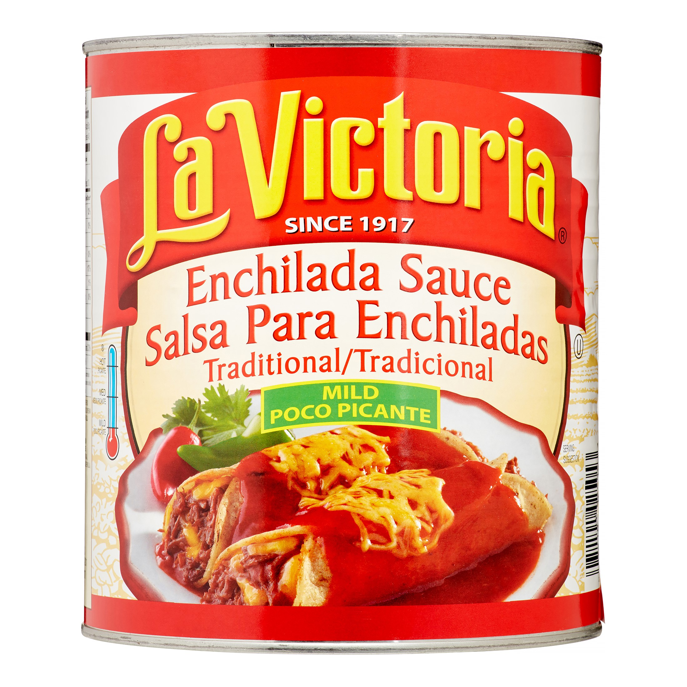 La Victoria Enchilada Sauce, Mild Red, 102 Oz