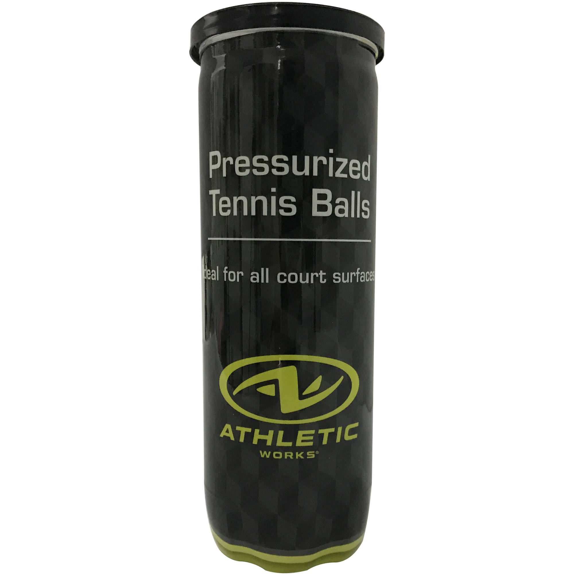 Athletic Works Pressurized Tennis Balls, 1 Can, 3 Balls
