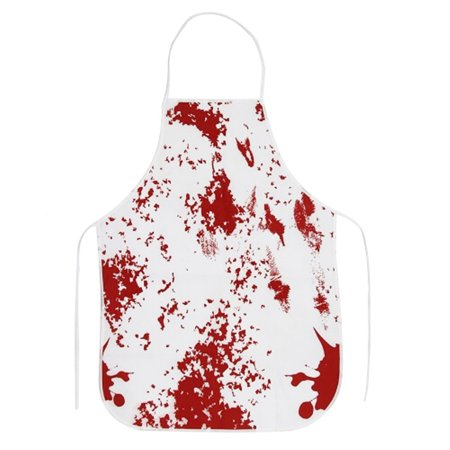 Horror Apron Bloody Murder Halloween BBQ Kitchen Cooking Apron Party Props for Haunted House Halloween Party Decoration](Halloween Murders)