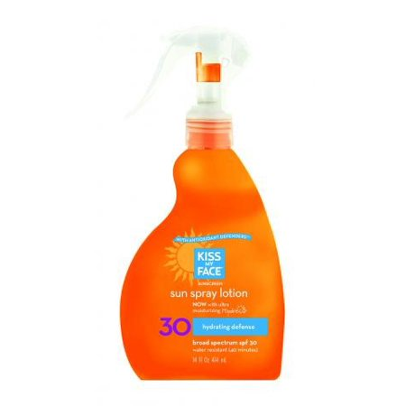 Kiss Me Spf (Kiss My Face Sunscreen Spray SPF 30, 14 Fl Oz)