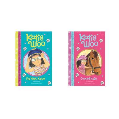 Katie Woo : Cowgirl Katie/Fly High, Katie!](Katie Woo Books)