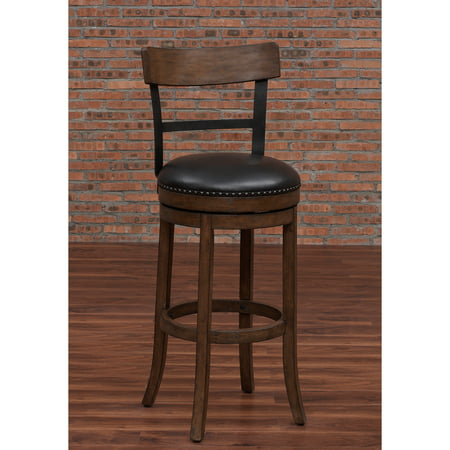 American Woodcrafters Taranto Swivel Counter Stool - Walmart.com