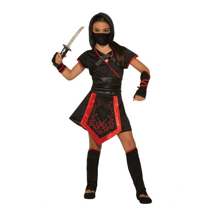 Girls Dragon Blade Ninja Girl Costume
