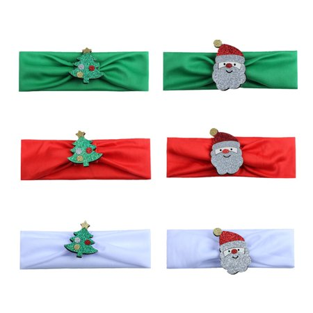 Cute Baby Toddler Infant Headband Christmas Stretch Hairband Photo Prop - Christmas Baby Photo