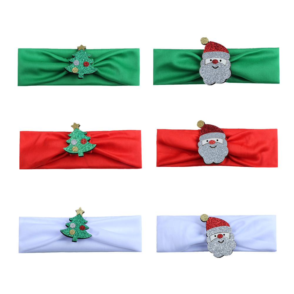 Outtop Cute Baby Toddler Infant Headband Christmas Stretch Hairband Photo Prop Gift