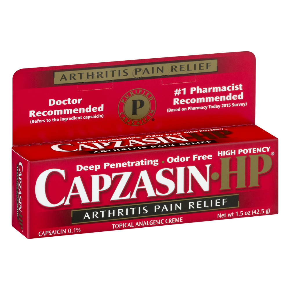 Capzasin High Potency Arthritis Pain Relief, 1.5 OZ