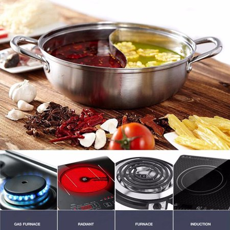 Stainless Steel Tray Family Large Food Containers Soup plate Large Food Tray Hot Pot Shabu Shabu Induction Christmas Thanksgiving Party family dinner food
