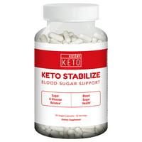 Kiss My Keto Blood Sugar Support - 90 Vegetable Capsules, Glucose and Insulin Supplement, Biotin, Berberine, Apple Cider Vinegar, Cinnamon, L-Carnitine, Vitamins, Minerals & Natural Herbs