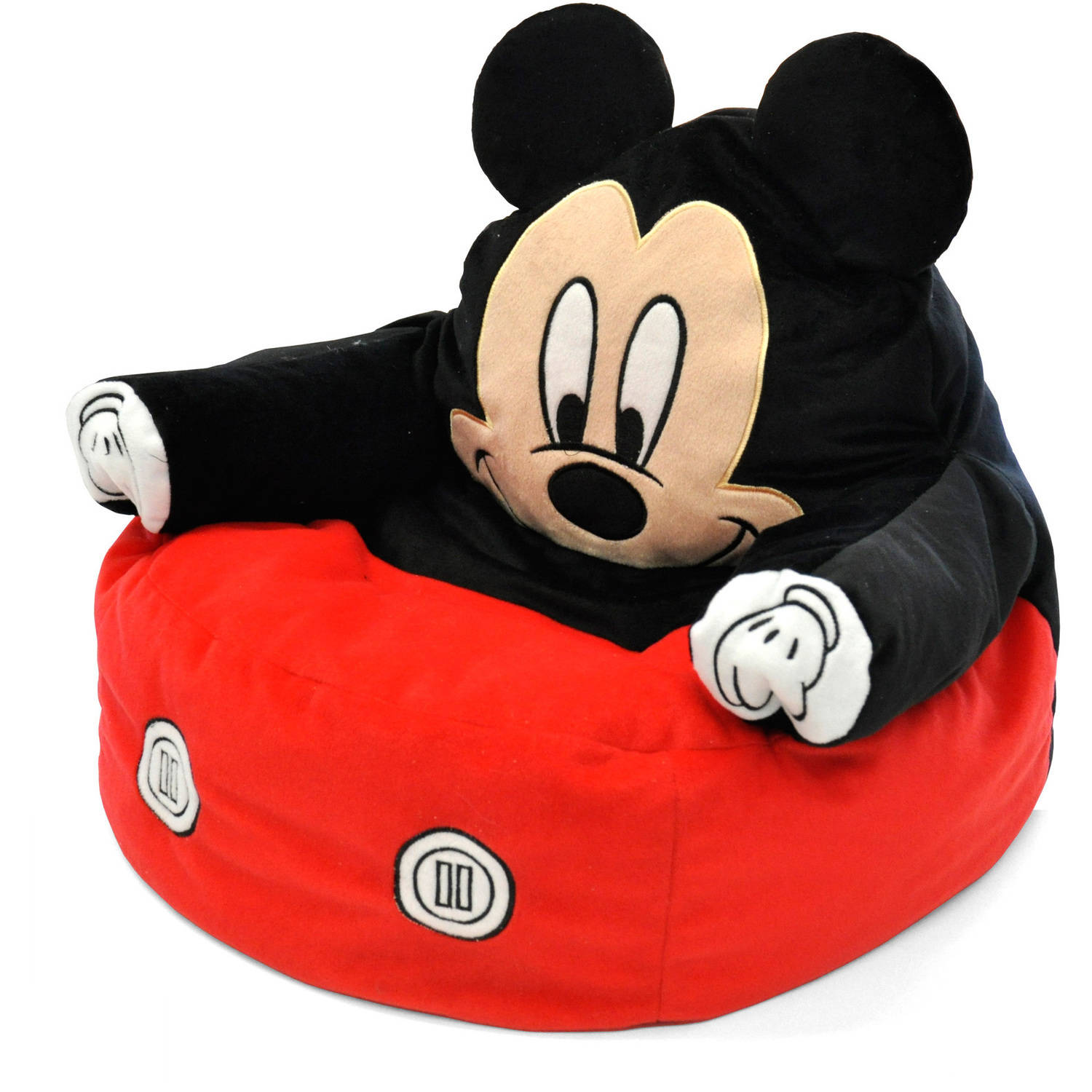 Mickey Mouse Character Figural Toddler Bean Chair