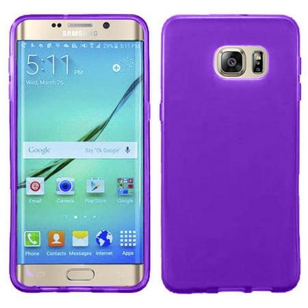 sale retailer 8a054 c3f2b Galaxy S7 Edge Case, Premium Anti-Scratches Frosted Matte TPU Gel Premium  Slim Flexible Soft Bumper Rubber Protective Case Cover for Samsung Galaxy  S7 ...