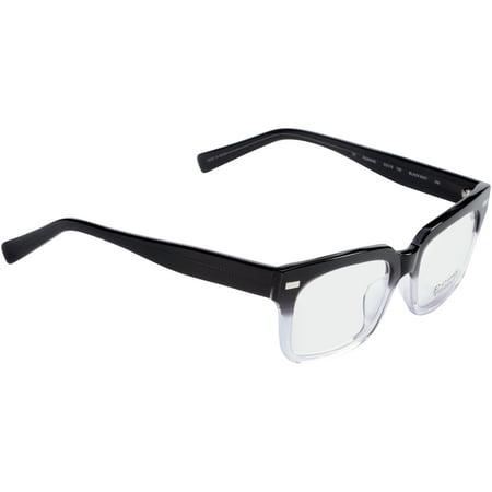Pomy Eyewear Rx-able Eyeglass Frames Romane Black Mist - Walmart.com