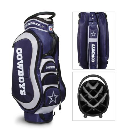 Dallas Cowboys Official Nfl Medalist Cart Bag By Team Golf 32335