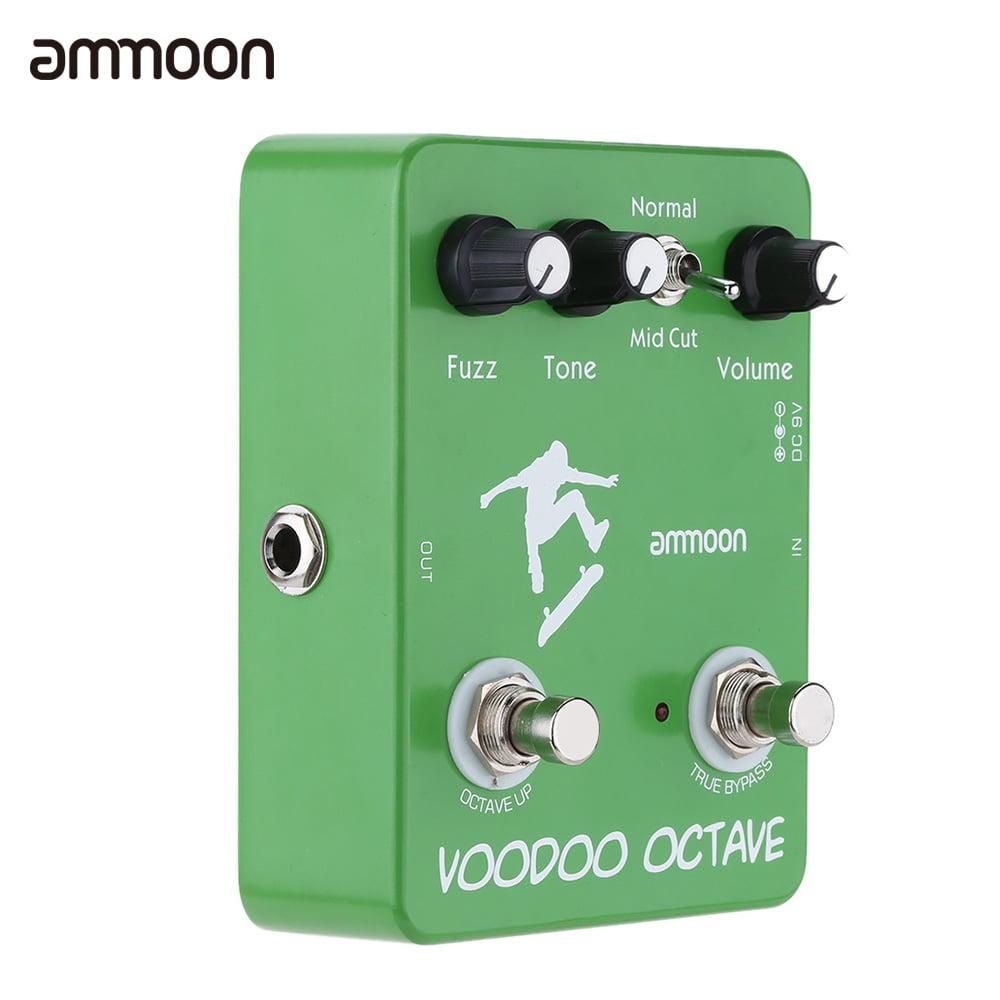 ammoon AP-12 Voodoo Octave Fuzz Effect Guitar Effect Pedal True Bypass by