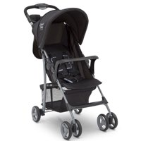 Little Folks Classic Tour Stroller by Delta Children, Black