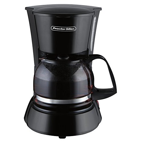 Proctor Silex 48138 4-Cup Coffeemaker; COLORS MAY VARY