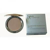 It Cosmetics Celebration Foundation SPF 50+ Full Coverage Anti-aging Hydrating Powder Foundation (Light)