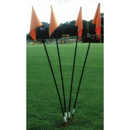 Soccer Field Corner Flags - Set of 4 (Soccer Corner Coupons)