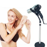 OTVIAP Stainless Steel Adjustable Hands Free Blow Dryer Holder Hair Dryer Stand Removable Sucking Cup