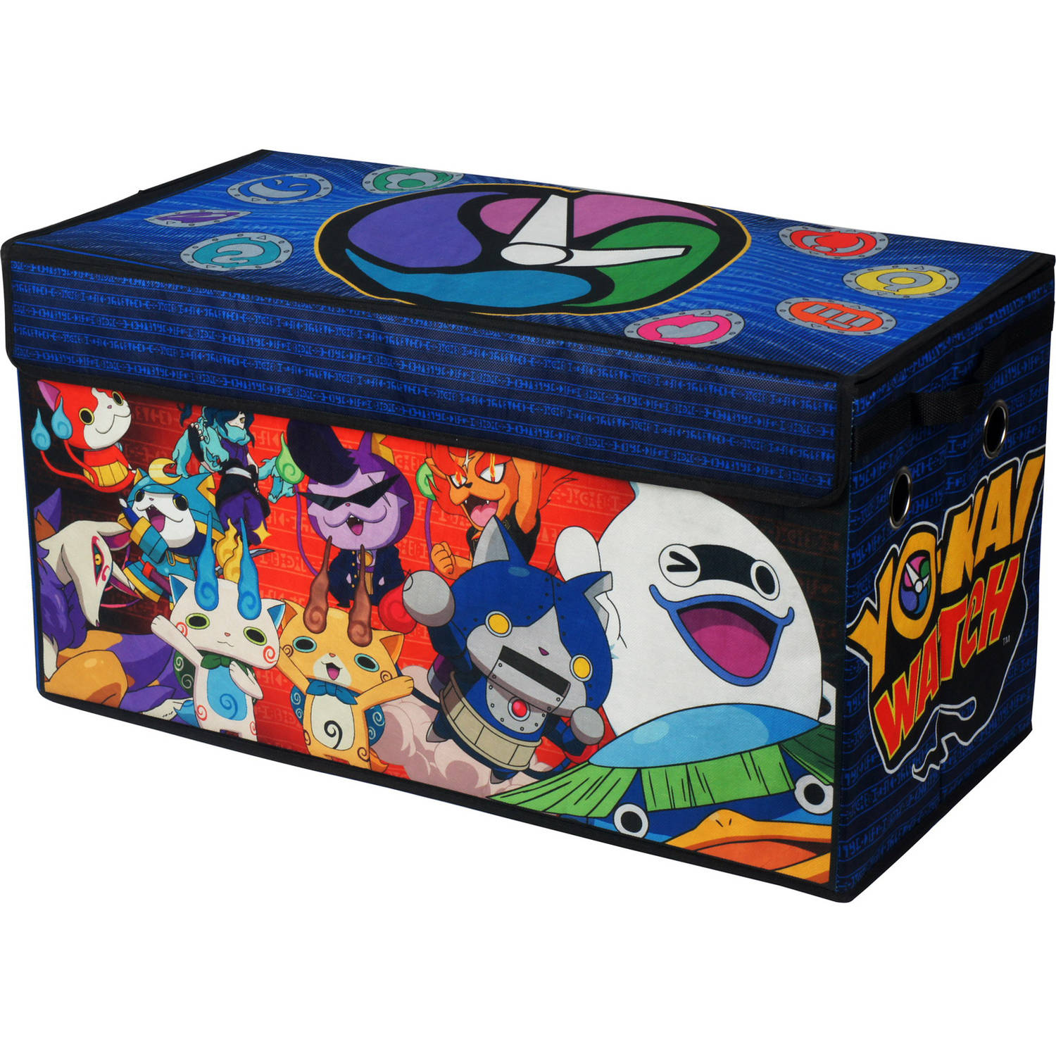 Yo Kai Oversized Collapsible Storage Trunk Play