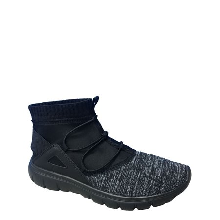 - Avia Women's Knit High Top Bungee Sneaker