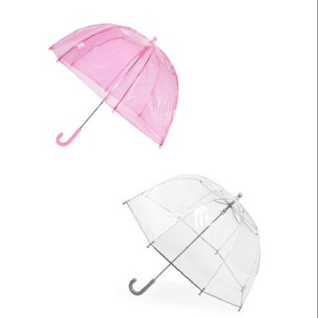 Size one size Kids' Clear Bubble Umbrella (Pack of 2)