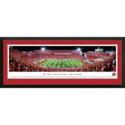 Blakeway Worldwide Panoramas, Inc NCAA Ohio State University - Football - Script Framed Photographic Print
