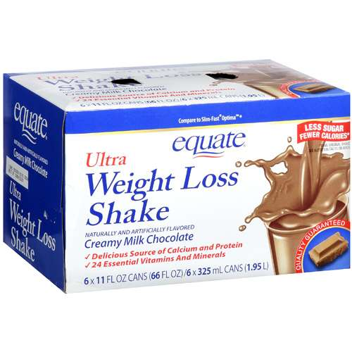 Equate Ultra Weight Loss Shake, Chocolate, 66 fl oz