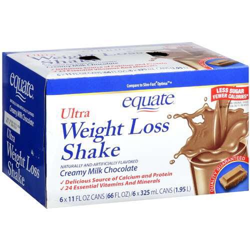 Equate Ultra Weight Loss Shake, Chocolate, 66 fl oz