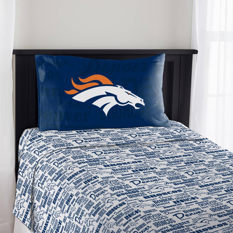 """NFL Denver Broncos """"Anthem"""" Sheet Set, 1 Each"""