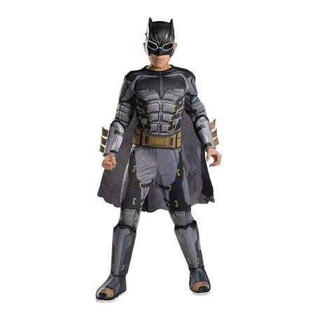 Justice League Movie Tactical Batman Deluxe Costume Child Medium - image 1 de 1
