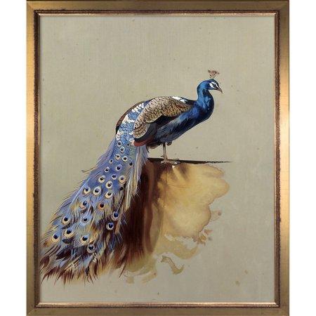 la pastiche archibald thorburn peacock luxury line hand painted