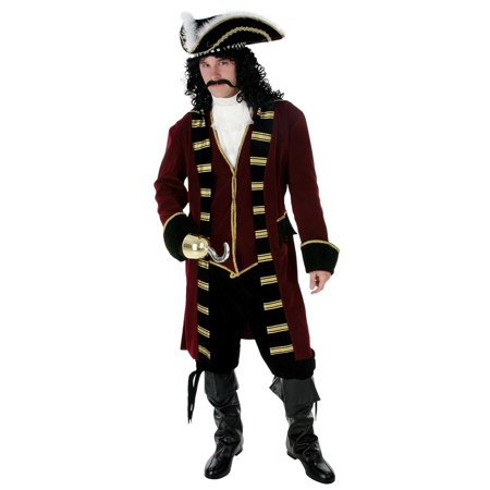 Deluxe Captain Hook Costume - Deluxe Captain Hook Costume