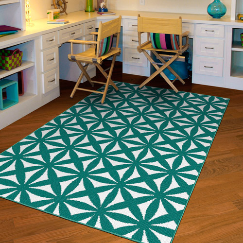 NXT-GEN Bright Eyed Suzy Olefin Area Rug
