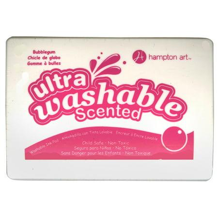 - Hampton Art Scented Washable Ink Pad-Bubble Gum