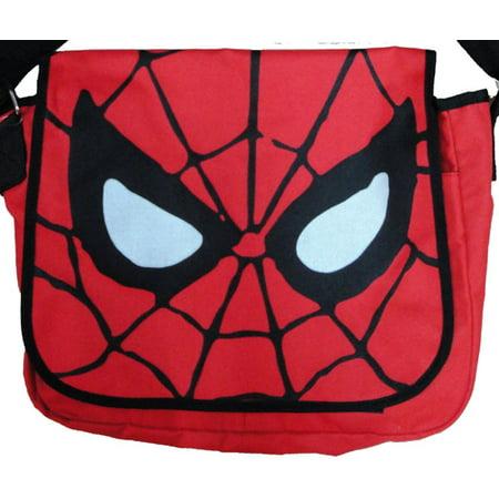 Spiderman Face Messenger Bag