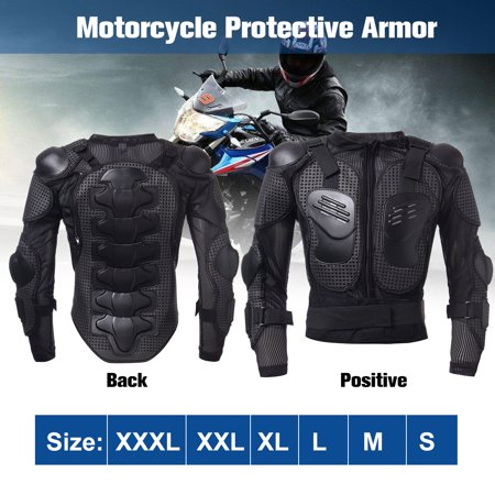 Full Body Motorcycle Armor Jacket Spine Body Armor Jacket Shoulder Chest Protection Riding Gear Protective Riding Guard Jacket -
