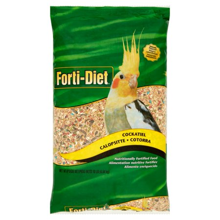 Forti-Diet Cockatiel Pet Bird (Exotic Bird Food)
