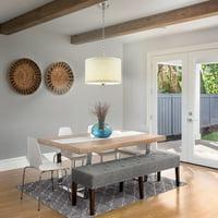 Better Homes & Gardens Off-White Drum Pendant Light