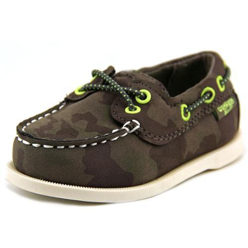 Osh Kosh Alex6-B Toddler US 8 Brown Moc Loafer