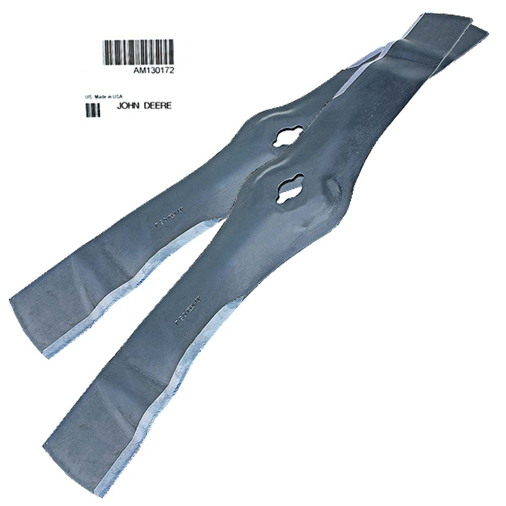 John Deere Original Equipment Mower Blade Kit #Am130172