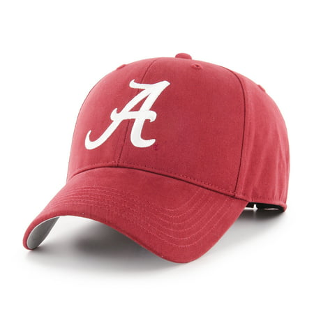 Fan Favorite - NCAA Basic Cap, Alabama Crimson