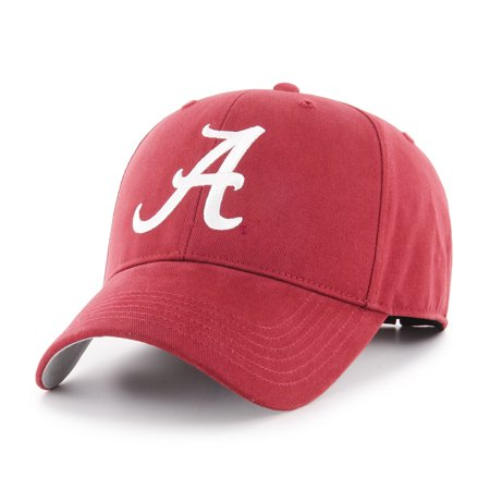 Fan Favorite - NCAA Basic Cap, Alabama Crimson Tide](Alabama Crimson)