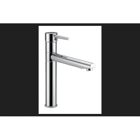 Delta Trinsic One Handle Chrome Kitchen Faucet