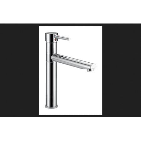 Delta Trinsic One Handle Chrome Kitchen Faucet (Delta 1 Handle)